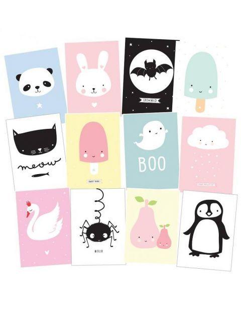 Set di Cartoline Bambini