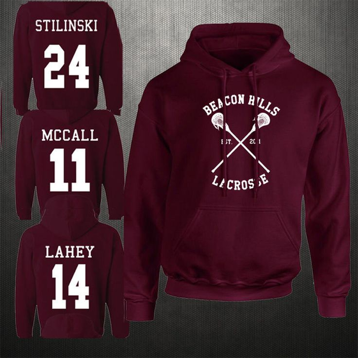Beacon Hills Lacrosse Hoodie Teen Wolf McCall Stilinski Lahey Unisex Sweatshirt. | Clothes, Shoes & Accessories, Women's Clothing, Hoodies & Sweats | eBay!