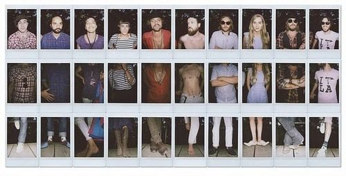 Edward Sharpe and the Magnetic Zeros. Also, I love this photo idea.