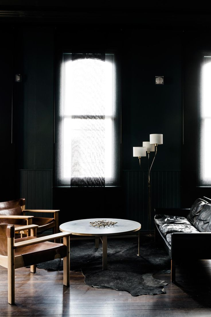 Interior Design Architecture Firm Meme Lend A Dark Aesthetic To Melbourne Residence