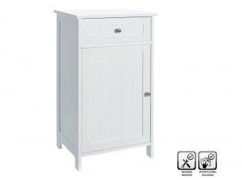 Mueble baño suelo 43x34x7cm 1 puerta #armariobano #mueblesbano