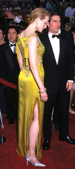 This dress was impeccable on her. No one else. Nicole ...