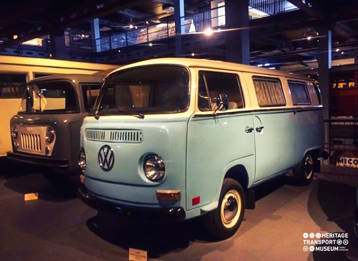 Volkswagen Type 2 also called the Kombi from 1974!  #Volkswagen #vintagevehicle #vintagecar #vintagecollection