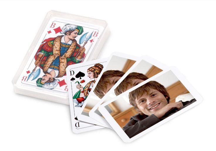 http://www.ebay.de/itm/B773-Bilderrahmen-Shabby-Look-Collage-Fotos-Fotogalerie-Rahmen-Antik-Weiss-/121795521920?hash=item1c5b942d80:g:LAUAAOSwA4dWKitw: Kartenspiel personalisiert, Skat-Karten, mit Foto, dm Fotogeschenke, Geschenk
