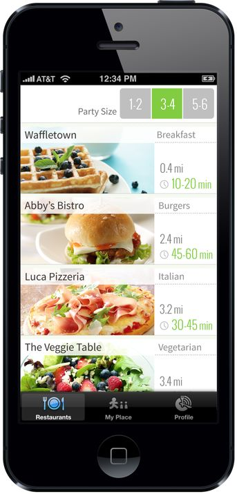 NoWait, A Mobile Replacement For The Restaurant Buzzer, Launches Its Consumer App | TechCrunch