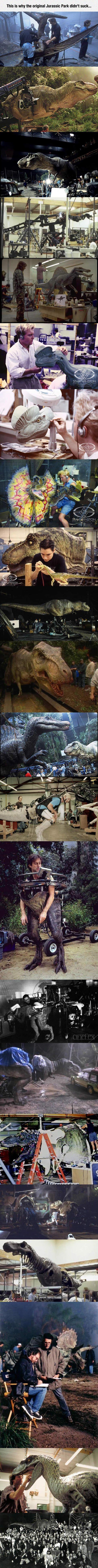 The reason Jurassic Park didn't suck.