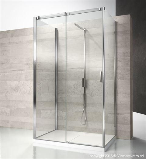 Cf+cq+cg : Serie 8000 Shower Enclosures Models   Sliding Door | By