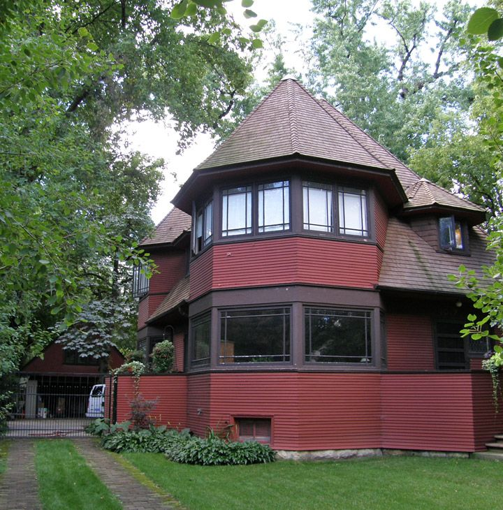 Early Frank Lloyd Wright Home Designs In Oak Park, Illinois