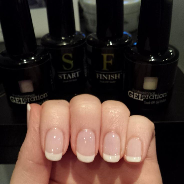 Gorgeous french manicure created by Rare Hair & Beauty using Wedding Gown and I Do!.