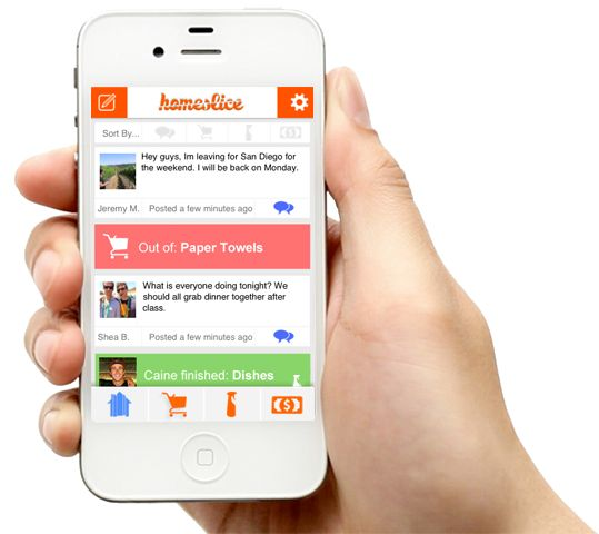 Pin Auf Roomie: Homeslice Room Mate App (With Images)