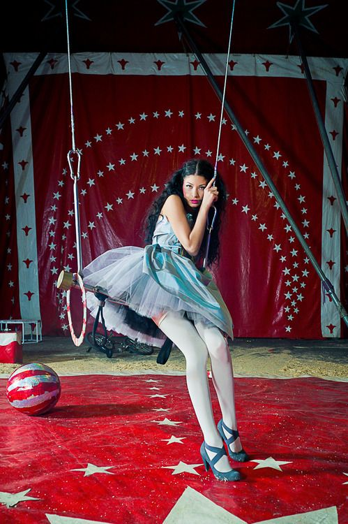 CARNY TRASH adorable | ~~Trapeze~~ And other aerial ...