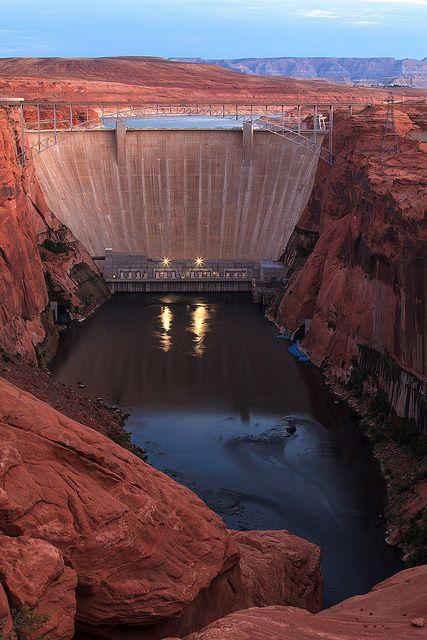 Dam Photo Glen Canyon Dam Page, Arizona