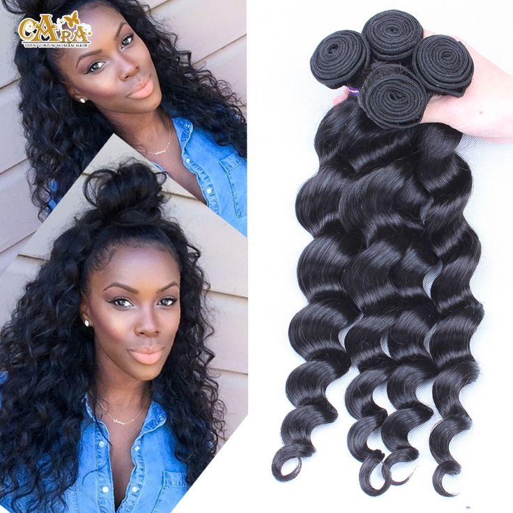 Peruvian Virgin Hair Bundles 3pcs 6A Unprocessed Human Hair Weaves Peruvian Loose Wave Natural Black Rosa Hair Products-in Hair Weaves from Health & Beauty on Aliexpress.com | Alibaba Group
