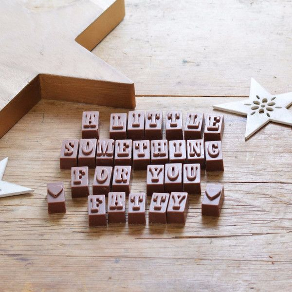 A little something for you fatty. The best birthday gifts just accept how it is. Morse Toad Personalised Chocolate Gifts