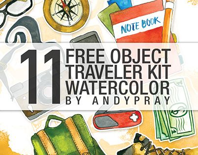 "Check out new work on my @Behance portfolio: ""Traveler Kits Free"" http://on.be.net/1Pl8FHj"