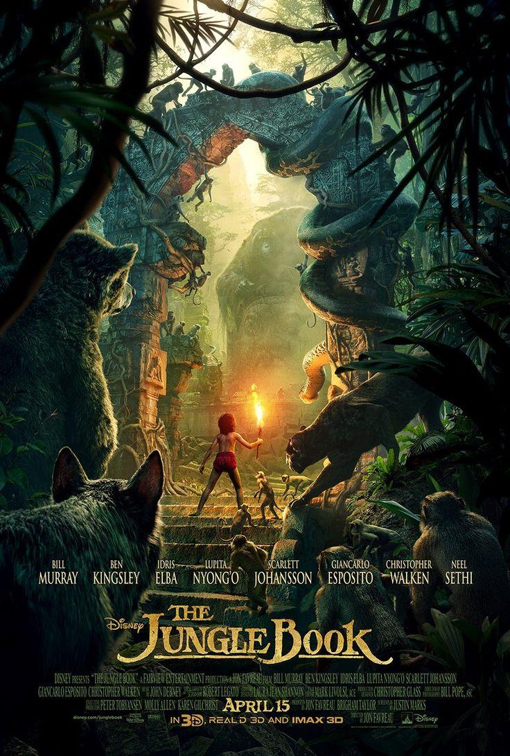 The jungle book 2016 film poster