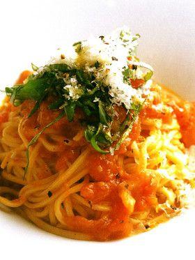 完熟トマトのタリオリーニ [クックパッド] 簡単おいしいみんなのレシピ ...