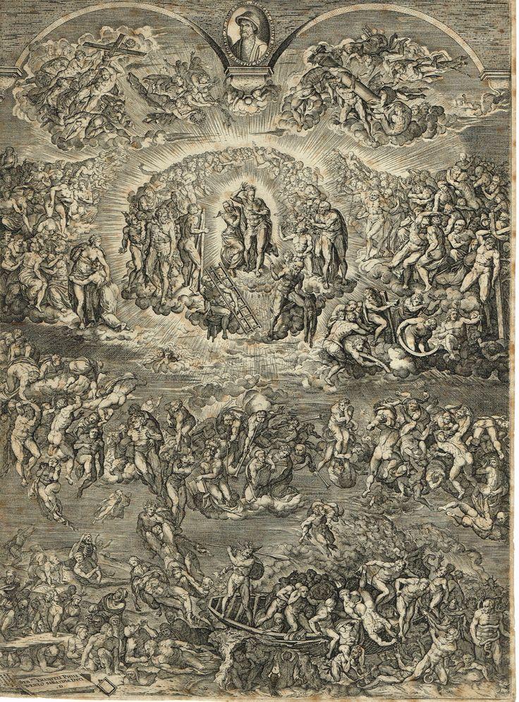 25 beste idee n over michel ange chapelle sixtine op - Fresque du plafond de la chapelle sixtine ...