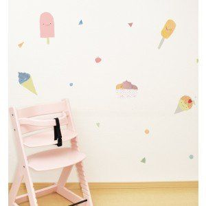 Ice Creams Wall Sticker by Jesses Mess