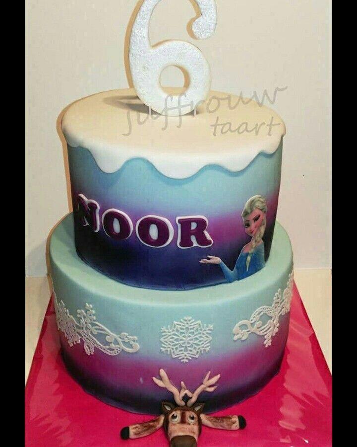 Frozen cake,  frozen tqart
