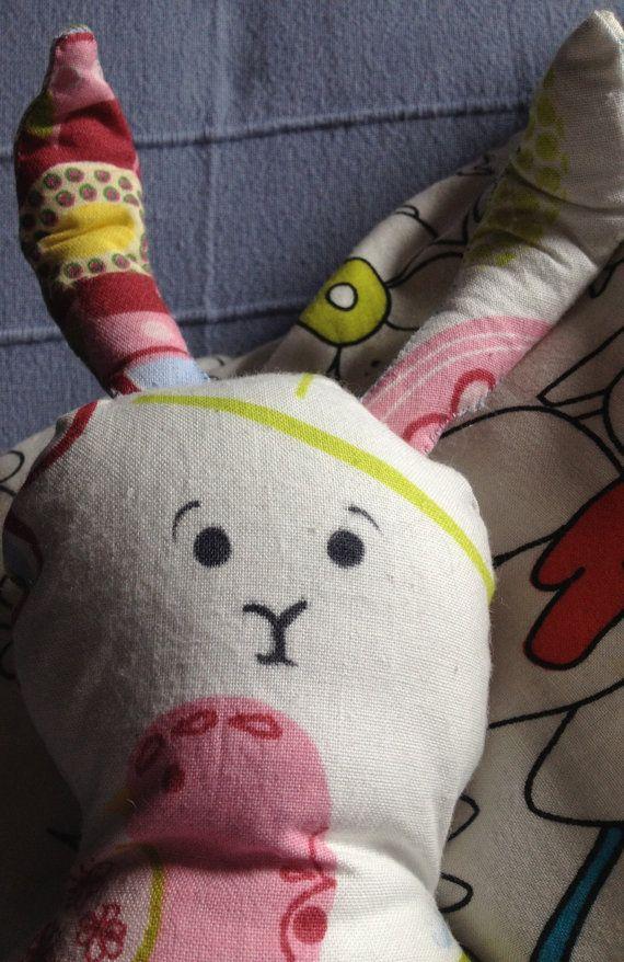 Snuggle Bunny  by GalwayCrafts on Etsy, $17.50