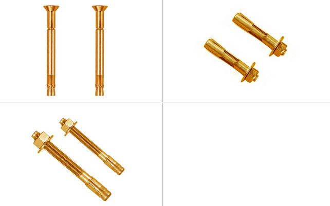 Brass Expansion Anchors #BrassExpansionAnchors