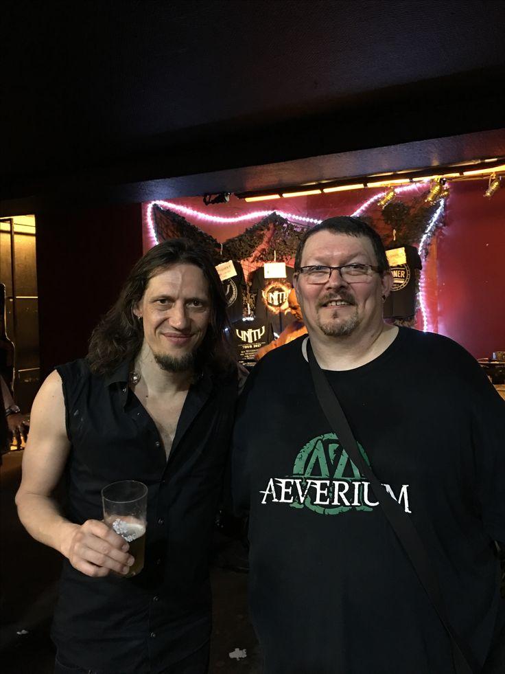 Alexander Scholp, guitar player from Sinner @Turock Essen 14.05.2017