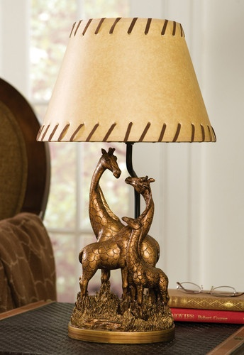 Details about Safari Theme Bedroom Giraffe Family Table