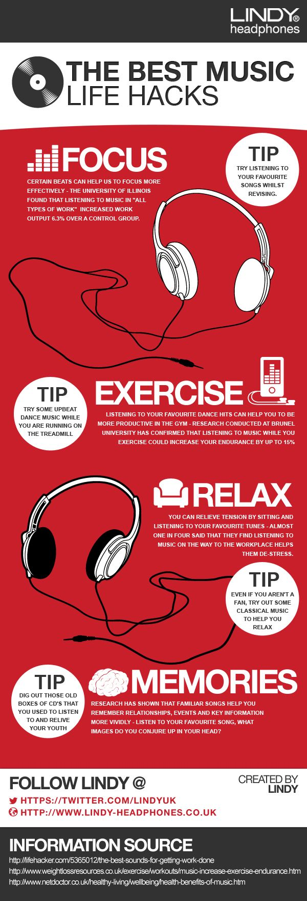 The Best Music Life Hacks.