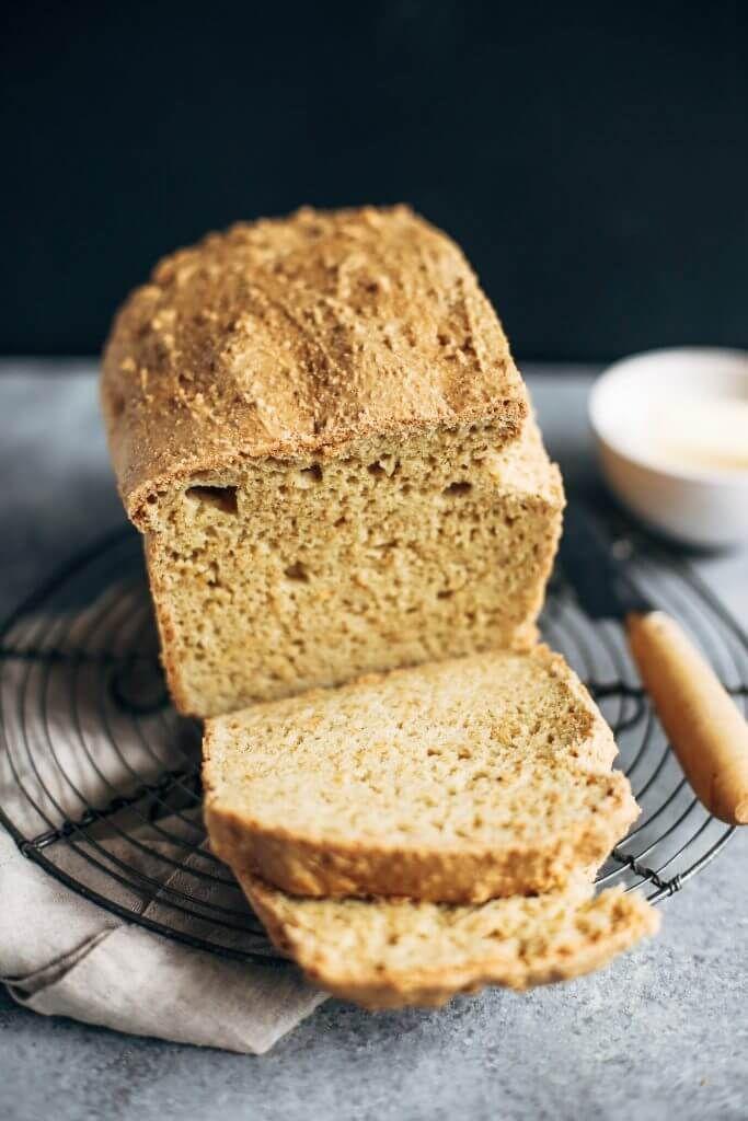 Best Keto Gluten Free Bread Recipe Easy Keto Bread Recipe Keto Bread Coconut Flour Almond Recipes