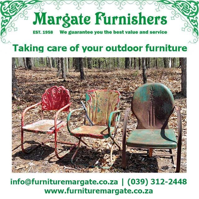 Read how to keep up with outdoor #furniture #cleaning in winter HERE! #furniturecare #Furnisher #Margate #Southbroom