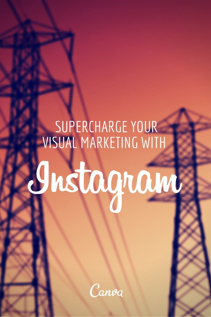 Supercharge your Visual Marketing with Instagram http://blog.canva.com/supercharge-your-visual-marketing-with-instagram-part-1/