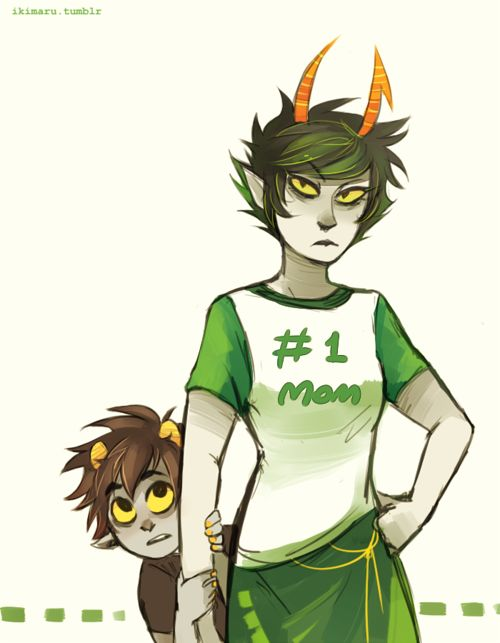 I've always imagined the Vantas' would always got to the Maryams. And they are like their motherly figure.