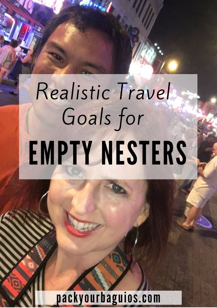 travel goals | empty nest | middle age