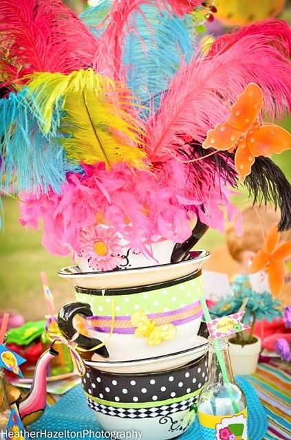 """Photo 28 of 52: Mad Hatter and Alice Tea party / Birthday """"Mad Hatter and Alice Tea Party""""   Catch My Party"""