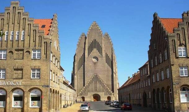 Grundtvig church Jorn Utzon