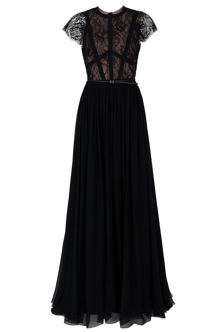 17 Best images about Black Tie on Pinterest | Lace gowns, Velour ...