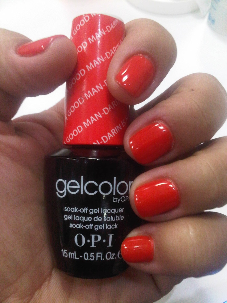 A Good Man-darin Is Hard To Find By OPI Love This Color