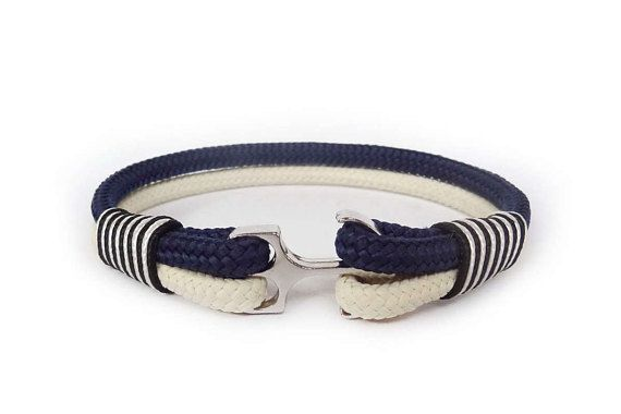 Anchor bracelet/Mens bracelet/Nautical bracelet/Mens anchor bracelet/Fish hook bracelet/Paracord bracelet/Pulsera/Bracciale
