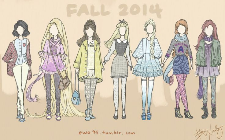 Fall 2014 Disney Fashion by Ellphie on DeviantArt