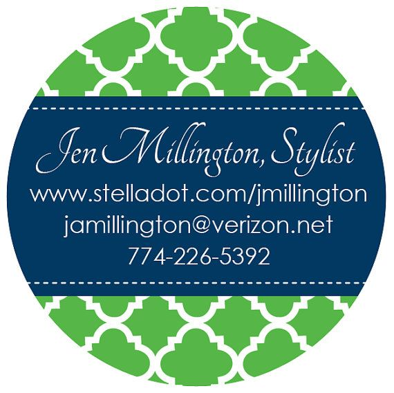 Personalized Labels- Custom Business Sticker by LoveyDoveyCreations
