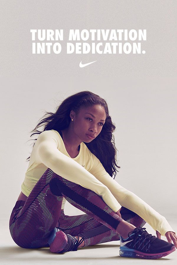 Olympic Track and Field athlete Allyson Felix uses every workout as an opportunity to become her best.