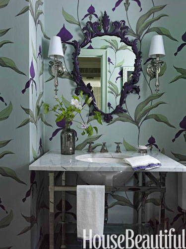 """2015 Color Trends - """"I'm seeing warmer, muddy colors start to come back into vogue. I can't get enough of rust, olive, dusty mint, and aubergine—and I still like a splash of bright color thrown on top though, just to keep things exciting!"""""""