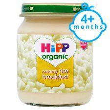 Hipp 4 Month Organic Creamy Rice Breakfast 125G