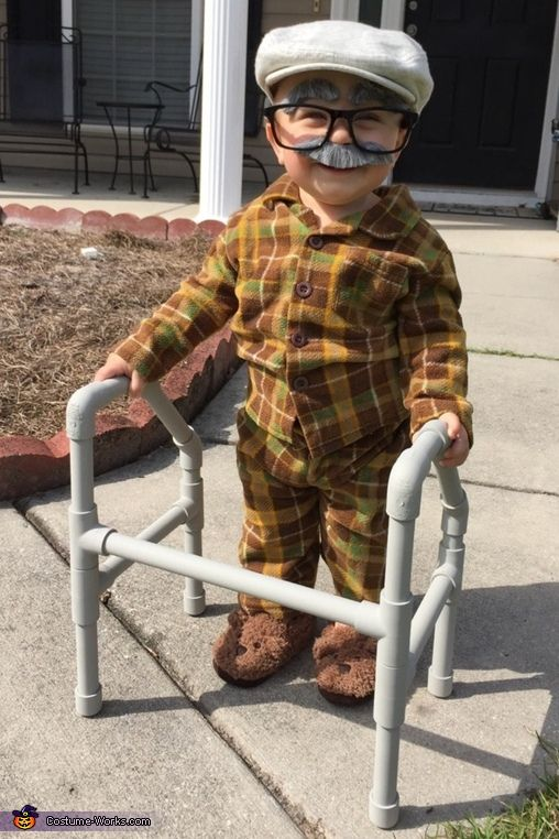 Samantha: Maximus Bear is 11 months old wearing a costume put together and made by his father.