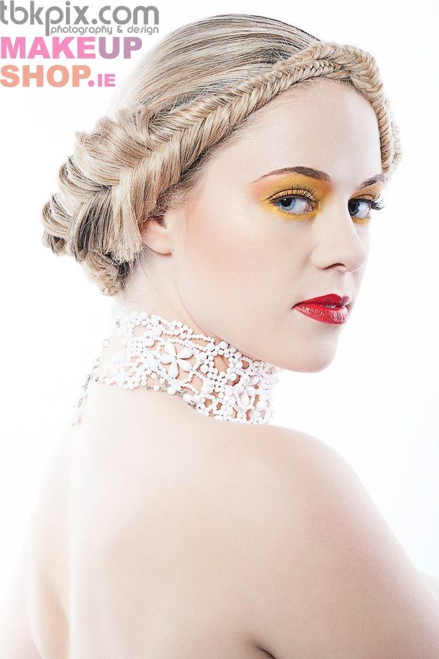 #LASplashCosmetics Makeup by #MAMUskinartist & photographer #tbkpix for #makeupshop.ie hair by #gemmacrossan model #joanne   info@makeupshop.ie