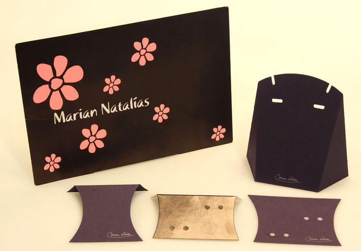 Diseño e impresión de envases de cartón para bisutería