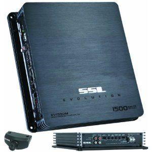 Sound Storm Laboratories EV1500M 1500 Watts Mono-Block Amplifier with High/Low X-Over Remote Subwoofer Level Control on Amazon.com going for $90.48  **This would be an interesting piece to change out for my Kicker amp for my sub now... not that I will be using it for another 18 years until Bowen is older...**