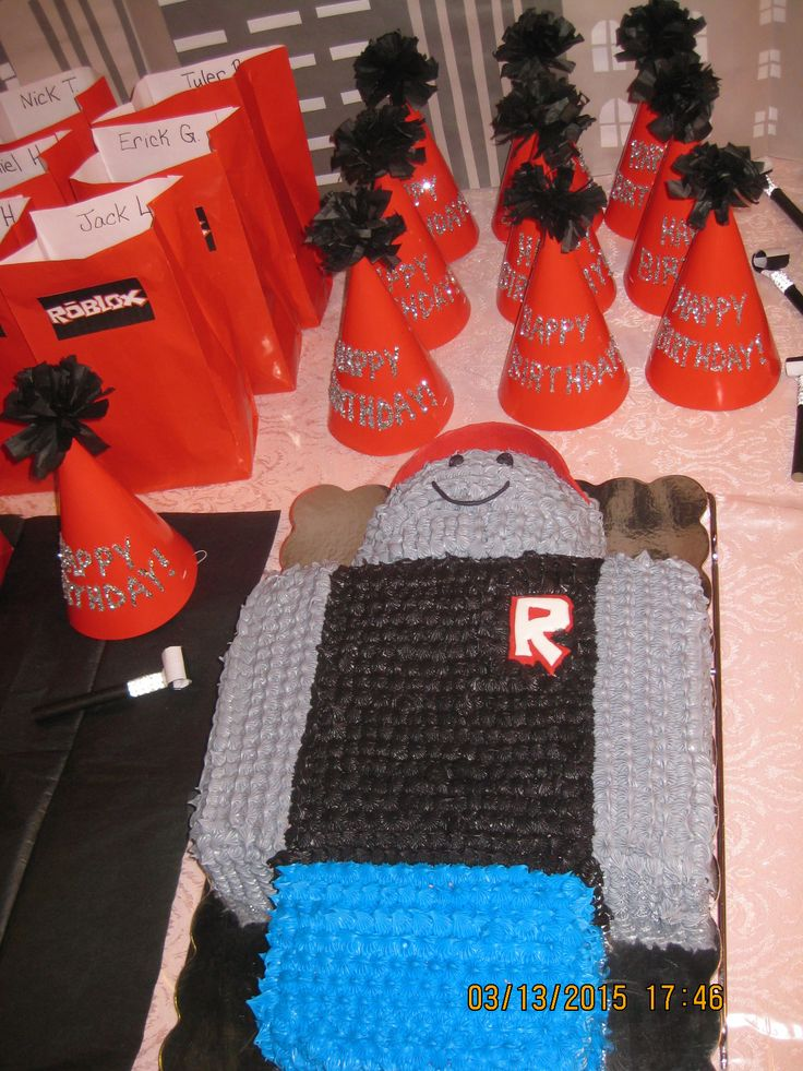 65 Best Images About Roblox Birthday Party Ideas On