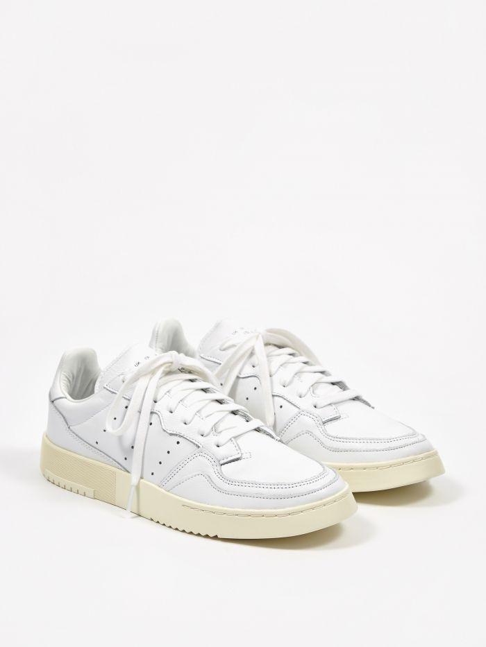 adidas Weiße Adidas Sneaker Super Court MEN Herren Schuhe
